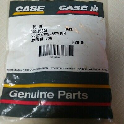 Oem Case Ih Split Pin / Safety Pin 245466A1 10 Included
