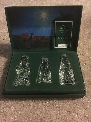 Marquis Waterford Crystal The Three Wise Men In original box
