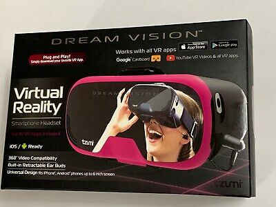 Tzumi Dream Vision Virtual Reality Smartphone Headset, Universal Design