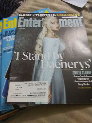 Choice of Entertainment Weekly 2018-2019 See Good Conditions See Description