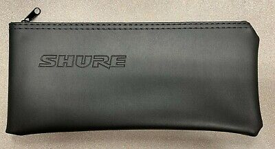 "Genuine Shure Wired Handheld Microphone Zipper Bag 10""x 4"" for SM58 or SM57"