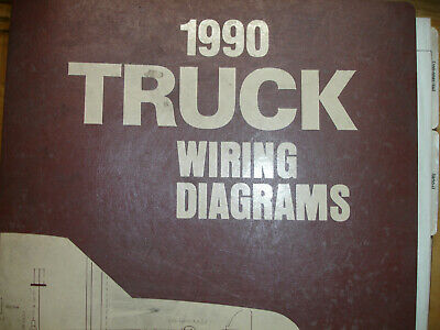 1990 ford ranger bronco ii (2) truck electrical wiring diagrams schematic  manual