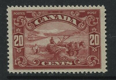 Canada KGV 1929 20 cents Harvester VF unmounted mint NH