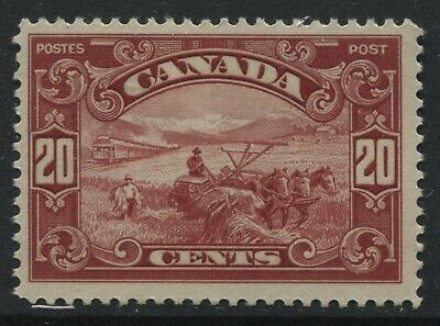 Canada KGV 1929 20 cents Harvester mint o.g.