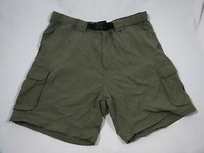 Boy Scouts Of America Switchback Uniform Pant Mens Green Shorts Size 35