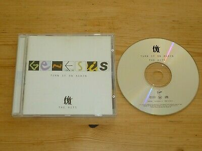 Genesis - Turn It On Again (Greatest Hits) Cd Excellent / Near Mint (Best Of)