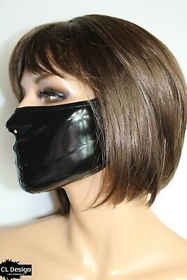 CL Design Latex Maske Unisex Ultimate Medical Mask Rubber Fetish
