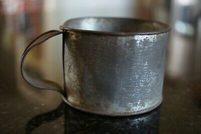 Antique Primitive Tin Cup
