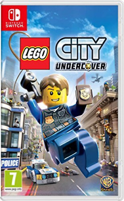 Nintendo Switch-LEGO CITY UNDERCOVER GAME NUOVO
