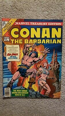 Marvel Treasury Edition # 15 Conan The Barbarian