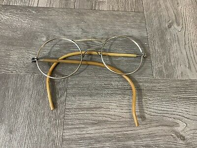 VINTAGE A.O. Co. 72 American Optical Round Glasses ANTIQUE GLASSES ESTATE SEE