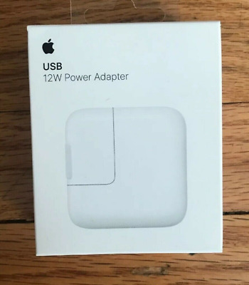 OEM Genuine Apple 12W USB Power Adapter Wall Charger (MD836LL/A) - NIB SEALED