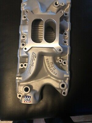 NEW IN BOX Edelbrock 7121 Ford 289 302 Performer RPM Intake