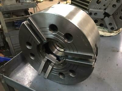 "10"" Samchully / Doosan 3 Jaw Power Chuck, A2-8 Mounting, HCH-10, Used, Warranty"