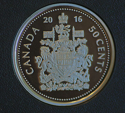 2016 Canada Classic design 50 cent proof finish (steel composition) low mintage