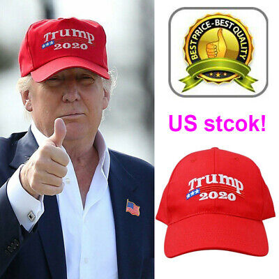 TRUMP 2020 MAGA Election Keep Make America Great Again Hat Donald Cap - Red