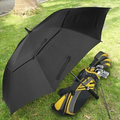 Extra Large Double-canopy Windproof Waterproof Automatic Open Golf Umbrella 6q