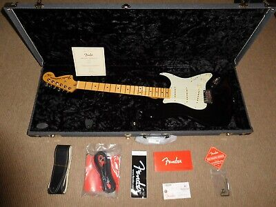Fender Stratocaster Usa 2018 The Edge (U2) Signature Series Mint Collectors