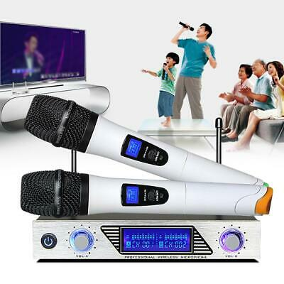 Wireless Microphone System 1-to-2 Computer Microphone Home TV Computer Karaoke