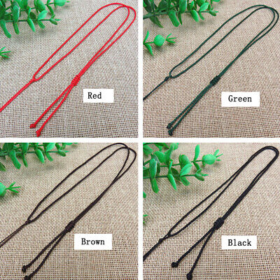10Pcs Braided Rope Necklace String Woven Beads Rope Chain Handmade Love Gift