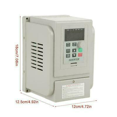 AC 220V 1.5KW Universal Variable Frequency Drive VFD Speed Controller wtt