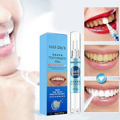 Instant Pearl White Teeth Whitening Pen Perfect Smile Tooth Oral Gel Bleaching