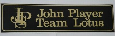 XXL Aufkleber John Player Special Team Lotus F1 JPS Fittipaldi 70er Sticker 48cm