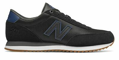 fb8ed9922 New Balance Male Men's 501 Adult Lifestyle Shoes Stylish Black With Blue