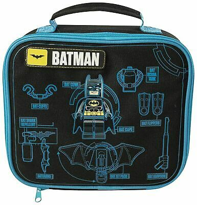 The Lego Batman Movie Kids Boys School Trips Insulated Lunch Bag New