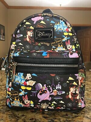 Disney Parks 2018 AP Annual Passholder Loungefly Backpack WDW Purse RARE HTF