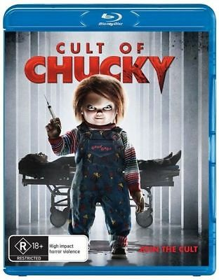 Cult Of Chucky Blu-Ray : NEW
