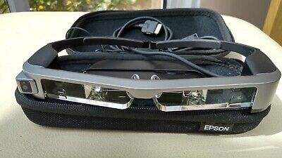 Epson Moverio BT-300 Augmented Reality Smart Glasses with an OLED Display