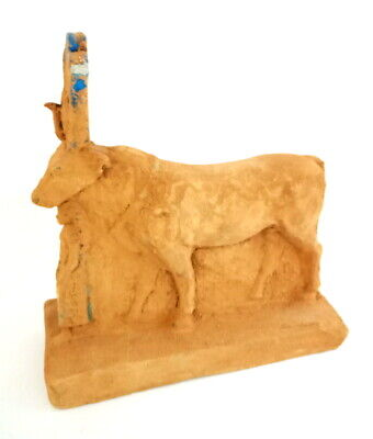 Very Unique Beautiful Cattle Figurine Statuette Egyptian Antiques Ancient Stone