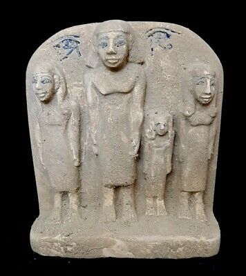 Very Beautiful Egyptian Antique Relief Plaque Wall Rare Ancient Carved Stone