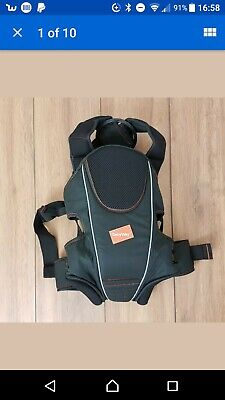 12kg 3 in 1 Newborn Babyway Baby Carrier Black 3.5kg