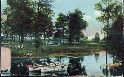 Park & Lake near Roulette, PA - mailed 19??