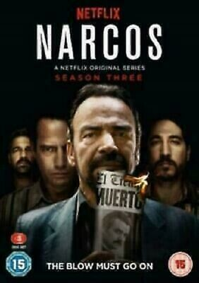 NARCOS SEASON 3 DVD Brand New and Sealed UK REGION 2 Fast Postage
