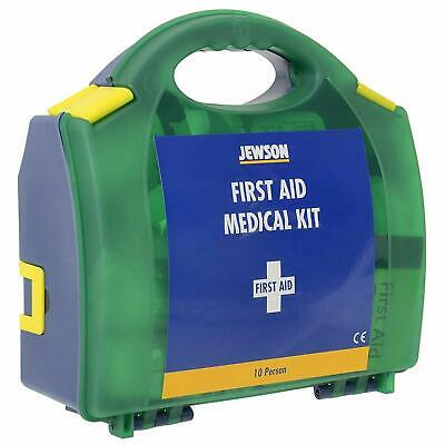 10-Person First Aid Medical Kit Emergency Travel Case Safety Accessory in Box