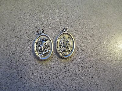 St Saint Michael the Archangel and Guardian Angel - ONE Medal ONLY