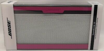 GENUINE Bose Soundlink III Cover for SoundLink® Bluetooth® Speaker III PINK NEW#