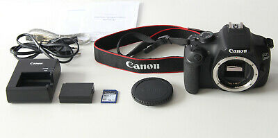 Canon EOS 1200D 18MP Digitale Spiegelreflex Kamera DSLR Foto Full HD Video Body