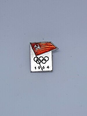 USSR NOC Olympic games 1964 TOKYO Pin Badge Officel