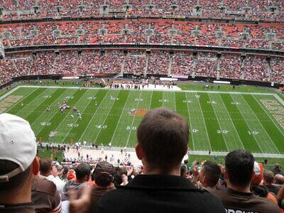 4 Midfield Tickets Cleveland Browns vs Miami Dolphins 11/24