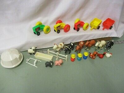 Vintage Fisher Price Play Family Little People Barn Farm 915 Pick 1 part piece