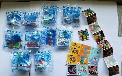 ** McDonalds Toy Story 4 Happy Meal Toys Set Of 10 With Stickers NIB FREE SHIP**