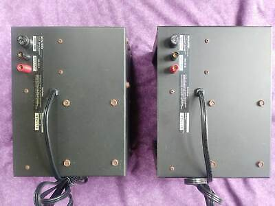 ACOUSTAT MK-121-B david hafler PAIR from 2+2 Excellent