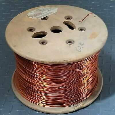 14 AWG Gauge Enameled Copper Magnet Wire, Apprx. 4700 ft.
