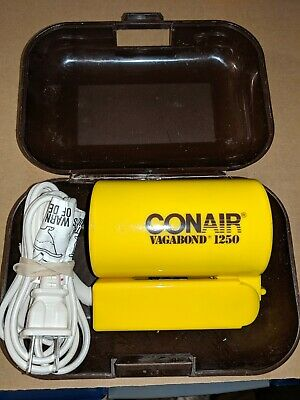 Conair Vagabond 1250 Compact Hairdryer Works Great for Travel, Dual Voltage