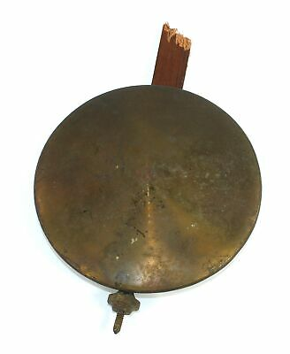 "SETH THOMAS CLOCK PENDULUM 3-5/8"" BOB - 14.2 oz - ANTIQUE - SP620"