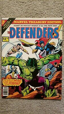 Marvel Treasury Edition # 16 The Defenders - Oversized!